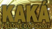 Kakà Pallone d'Oro a Milano