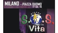 Nicola Legrottaglie a SOS per la Vita (Milano)