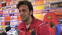Legrottaglie in sala stampa dopo Catania-Lazio
